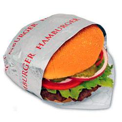 Упаковка для гамбургеров