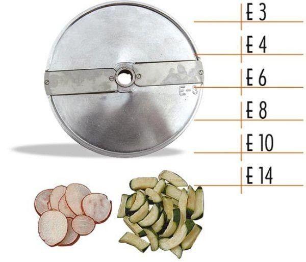 Диск для овощерезки Celme E10 AK, ломтики 10 мм