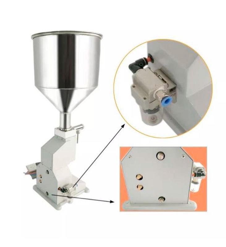 Дозатор для вязких и пастообразных продуктов пневматический А02