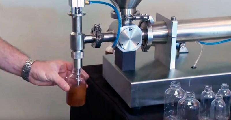 Дозатор поршневой для вязких продуктов Hualian PPF-2000T