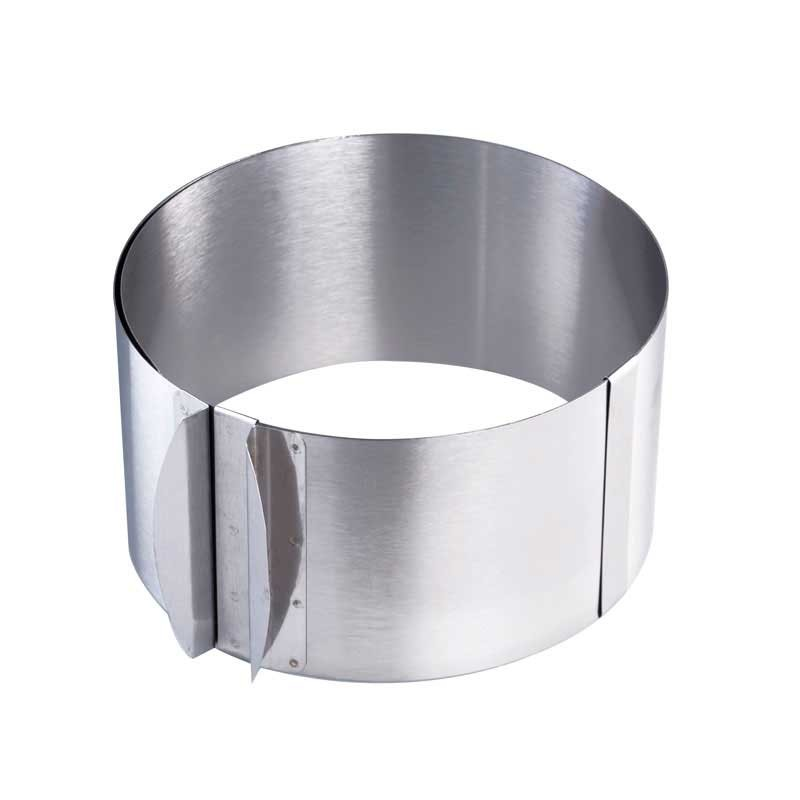 Форма для выпечки раздвижная металлическая круглая 30х8,5 см. KAPP 43030010