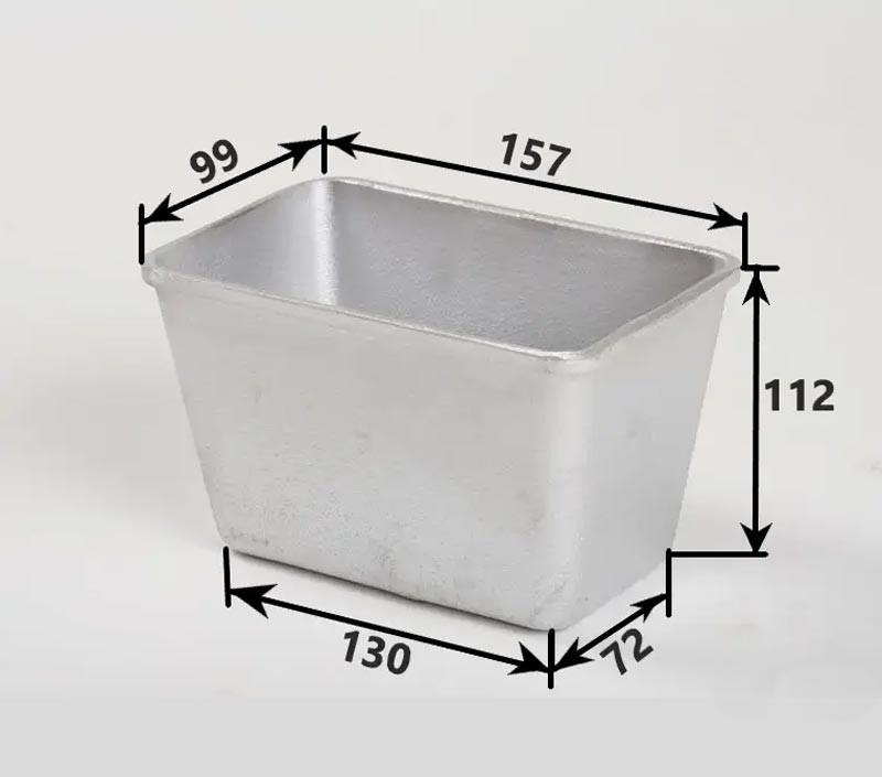 Хлебные формы алюминевые