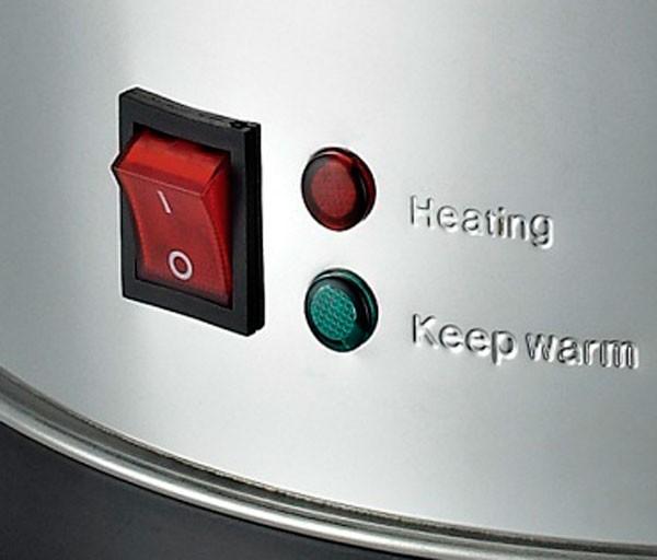 Световые индикаторы показывают режимы работы аппарата.