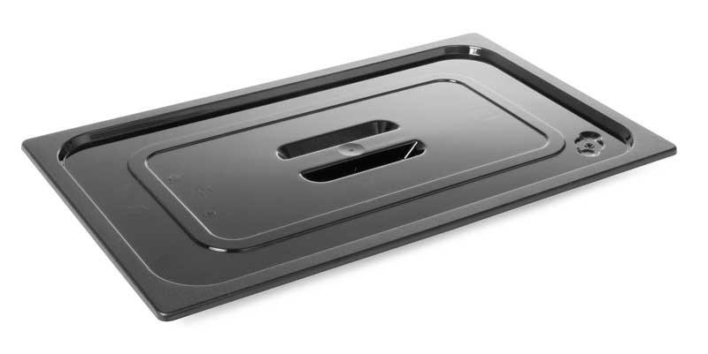 Крышка из черного поликарбоната GN1/2 Hendi 862926