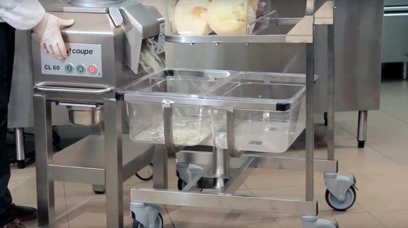 Овощерезка Robot Coupe CL60 Рабочая станция