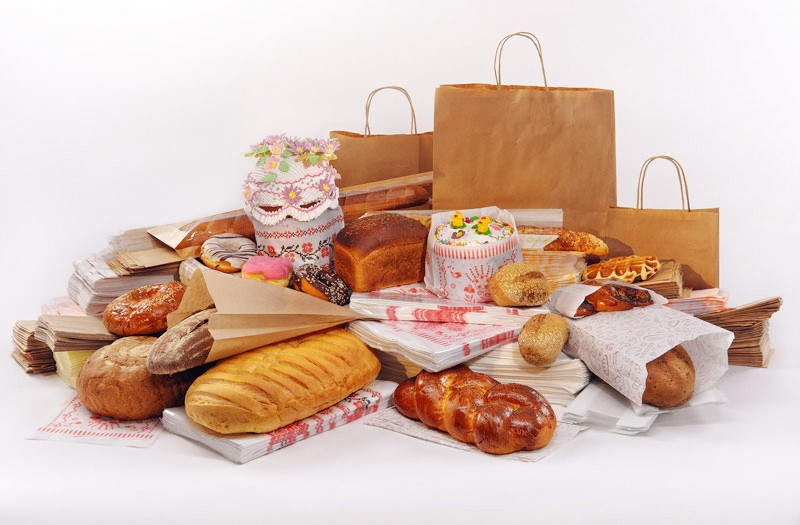 Бумажные пакеты для выпечки