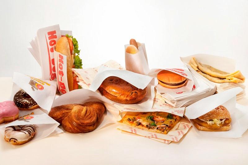 Пищевые бумажные крафт пакеты