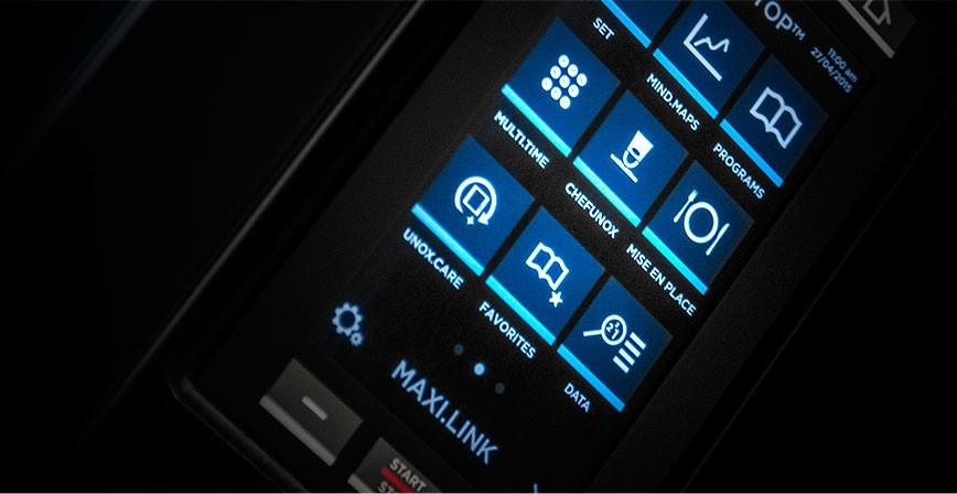 Unox. Сенсорная панель управления LCD MASTER.Touch.