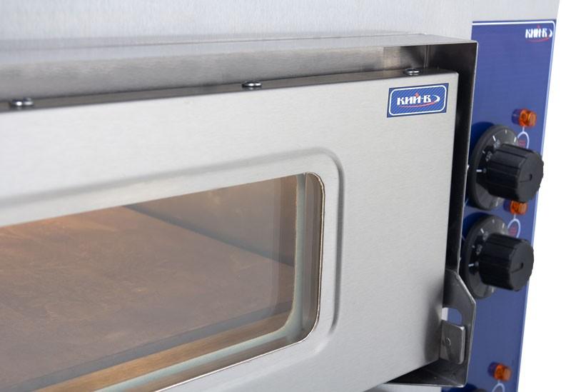 Печь для пиццы комплектуется двумя термостатами.