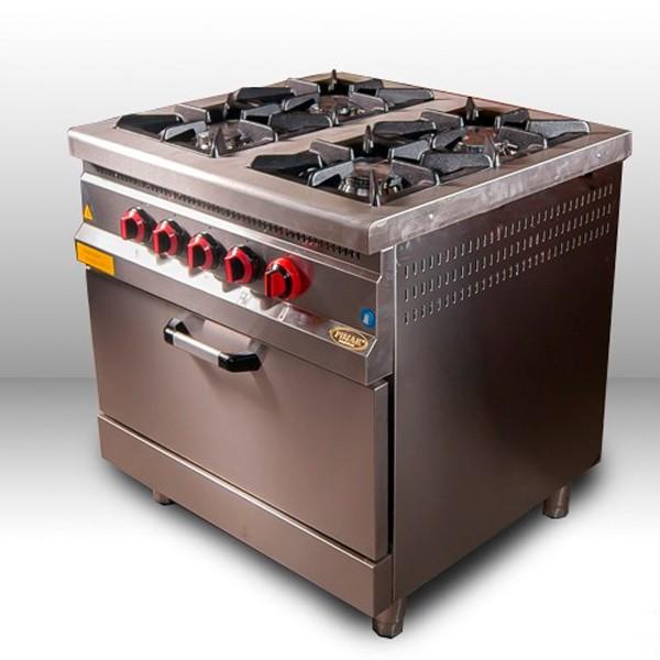 Газовая промышленная плита Pimak МО15-4