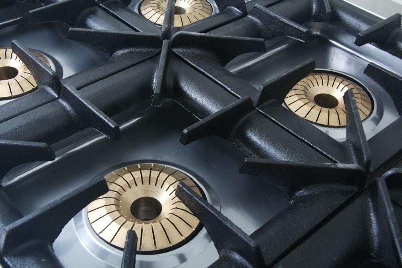 Профессиональная плита газовая Pimak МО15-6N/Газ. контр.