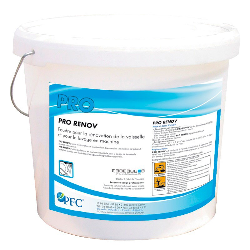 Порошок для отбеливания и восстановления посуды Про Ренов (Pro Renov) (2,5кг)