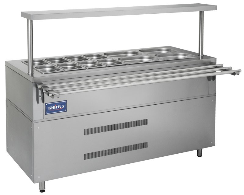Холодильный прилавок КИЙ-В ПХ-1500 Классик
