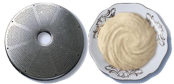 диск протирочный с отверстиями d 1,5 мм