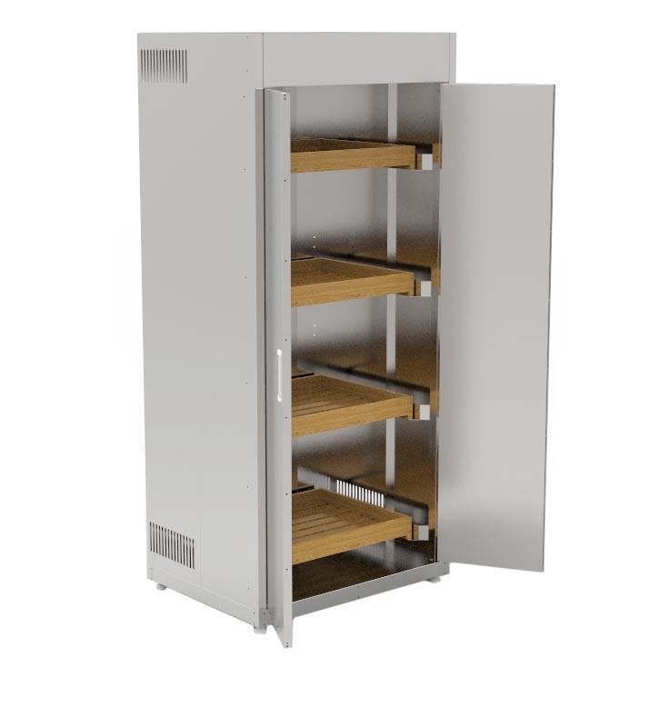 Шкаф для хранения хлеба КИЙ-В ШФХ-2ДР-4Д
