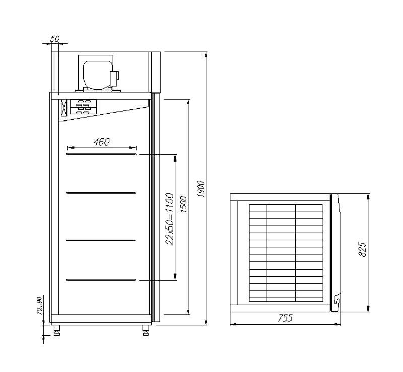 Carbona Pro M700GN-1-G-HHC 0430