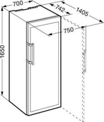 Шкаф для вина Liebherr WKes 4552 c[tvf