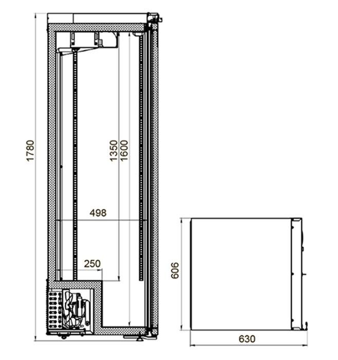 Шкаф холодильный медицинский Polair ШХФ-0,4