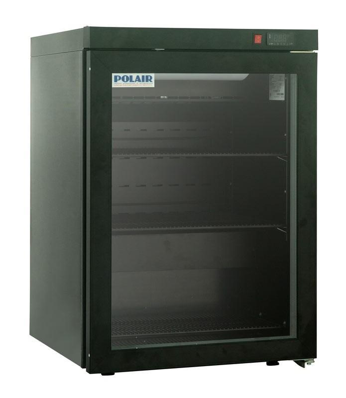 Мини холодильник Polair DM102-Bravo черный с замком