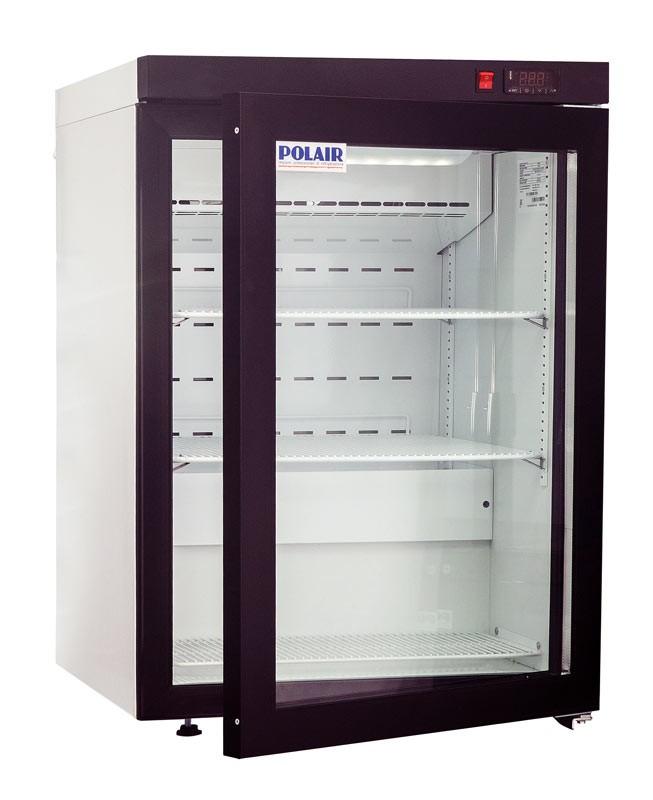 Мини холодильник Polair DM102-Bravo с замком