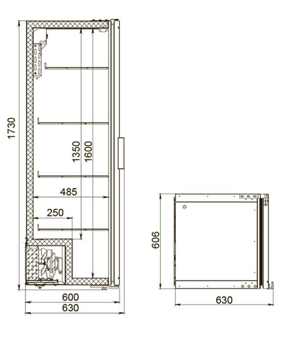 Холодильный шкаф Полаир DM104-Bravo