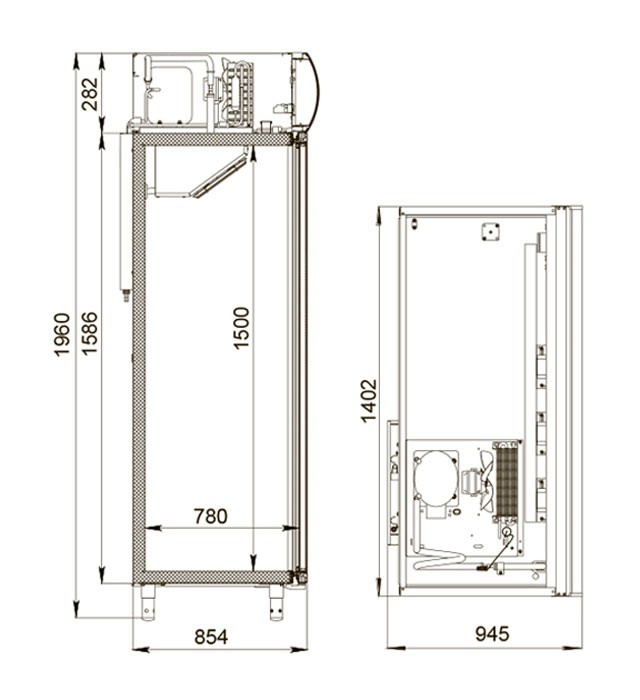 Шкаф холодильный DM114Sd-S 2.0 Polair
