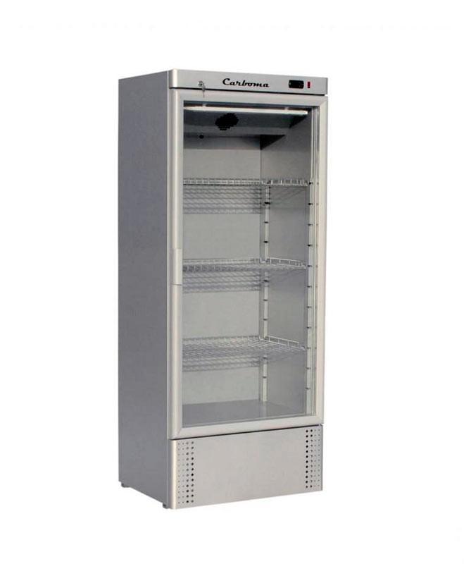 Шкаф холодильный Полюс Carboma R560 С INOX