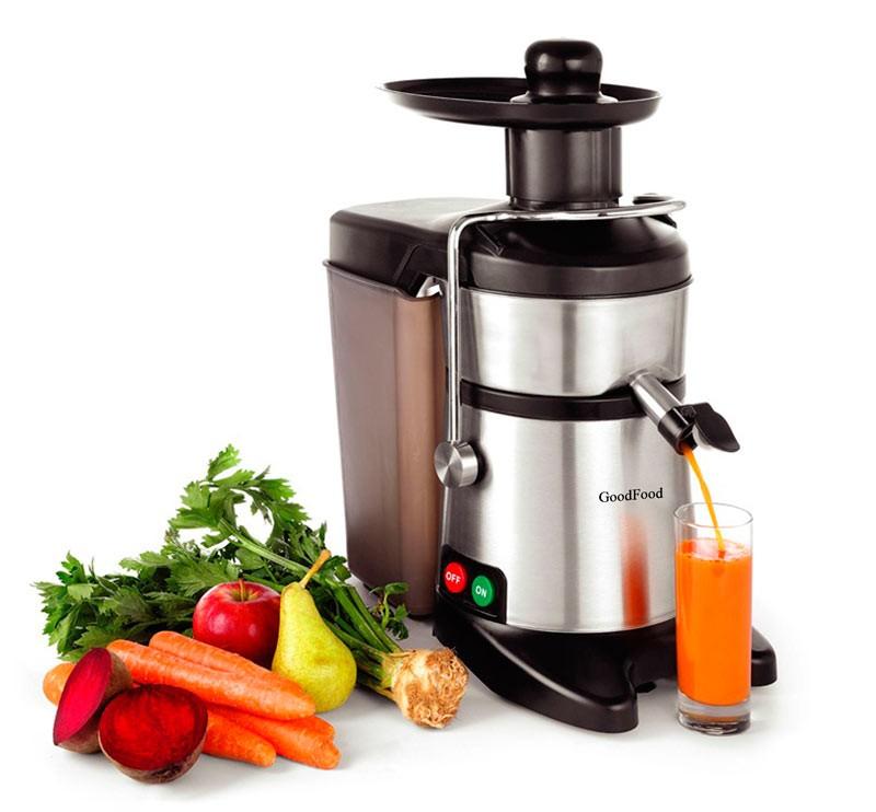 Соковыжималка для твердых овощей и фруктов GoodFood FJ200