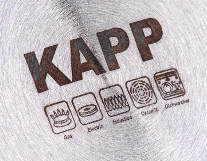 Профессиональная посуда из нержавеющей стали KAPP