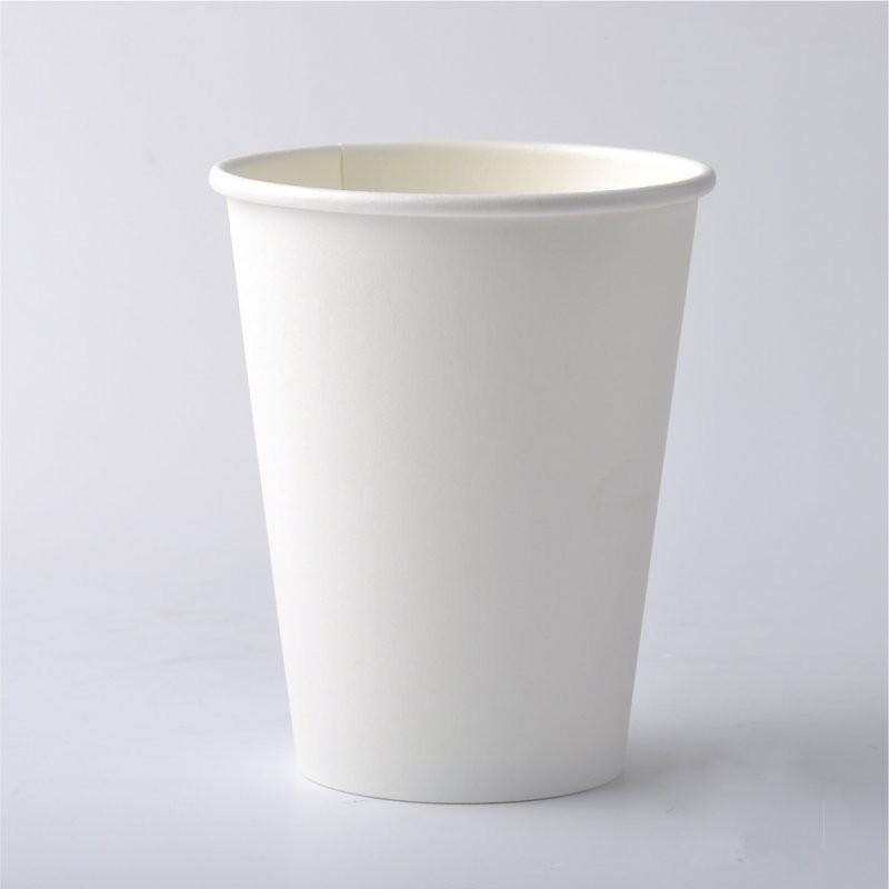 Стакан бумажный для кофе. Стакан бумажный белый 110мл.