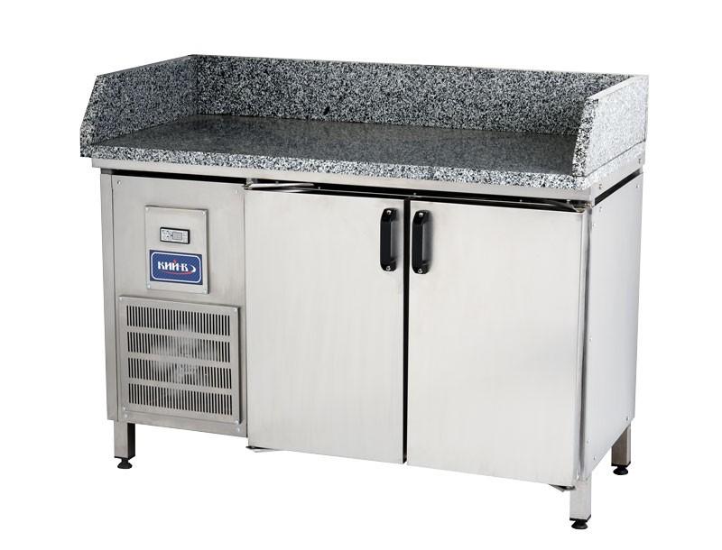 Конструкцией предусмотрена автоматическое размораживание холодильного стола.