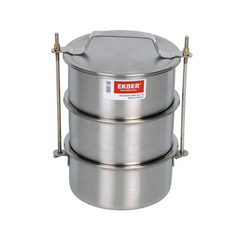 Судки Ekber 2155050 3х3л.