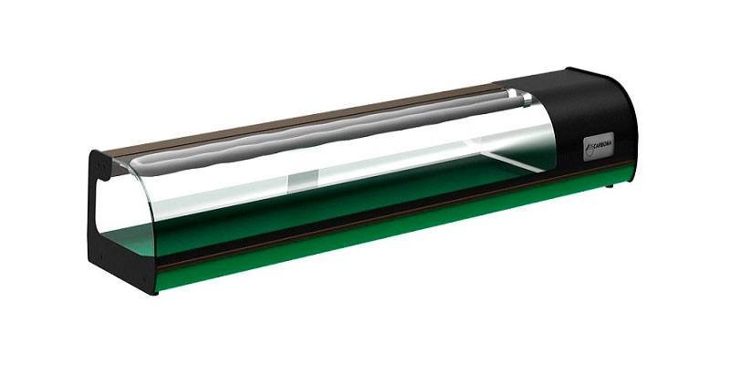 Витрина для суши Полюс A37 SM 1,8-1 CARBOMA (ВХСв-1,8)