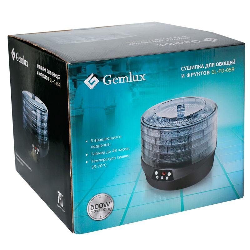 Сушилка для продуктов GEMLUX GL-FD-05R