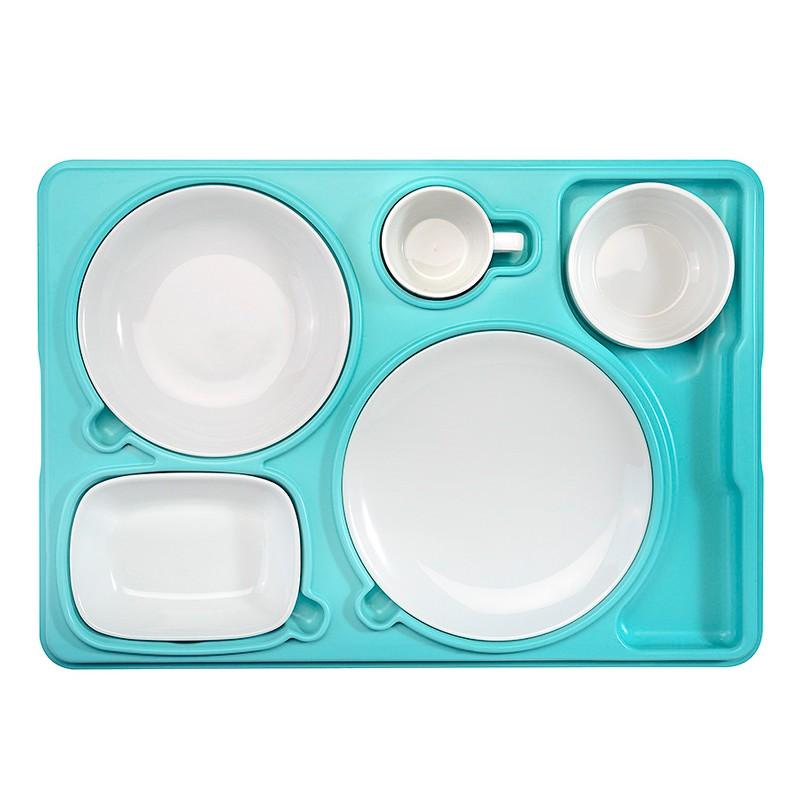 Термоподнос с набором посуды Resital AVA PLASTIK