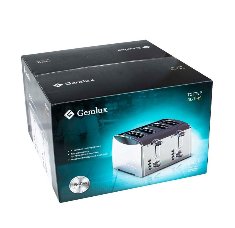 Гриль тостер GEMLUX GL-T-4S
