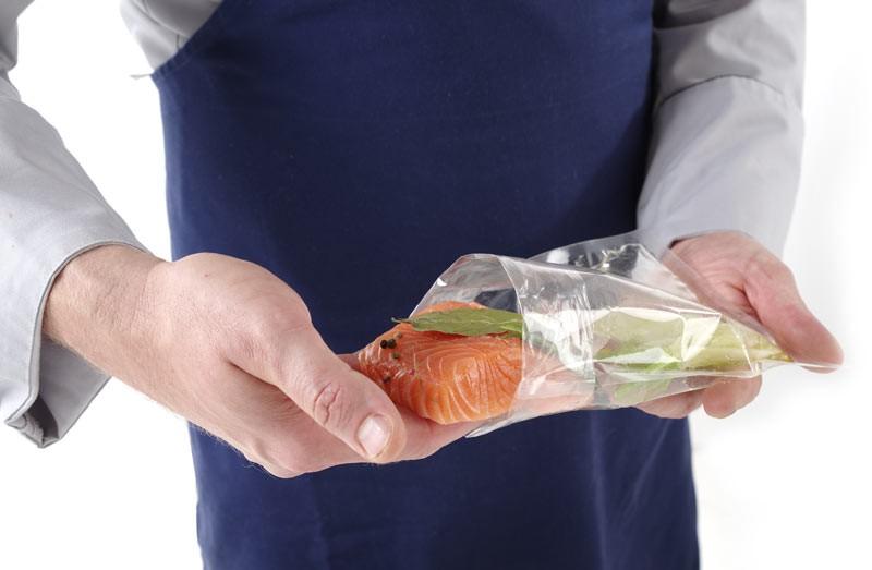 Вакуумные пакеты гладкие для хранения еды