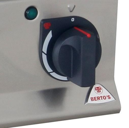 Гриль вапо Bertos PLE80BE