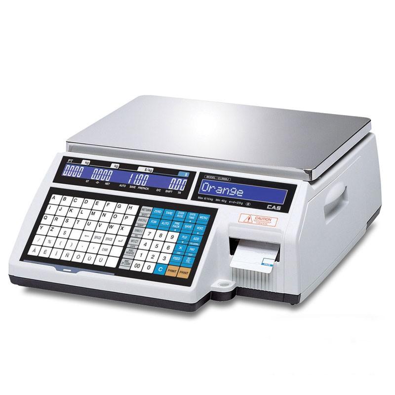 Весы торговые CAS CL5000J-IB 6