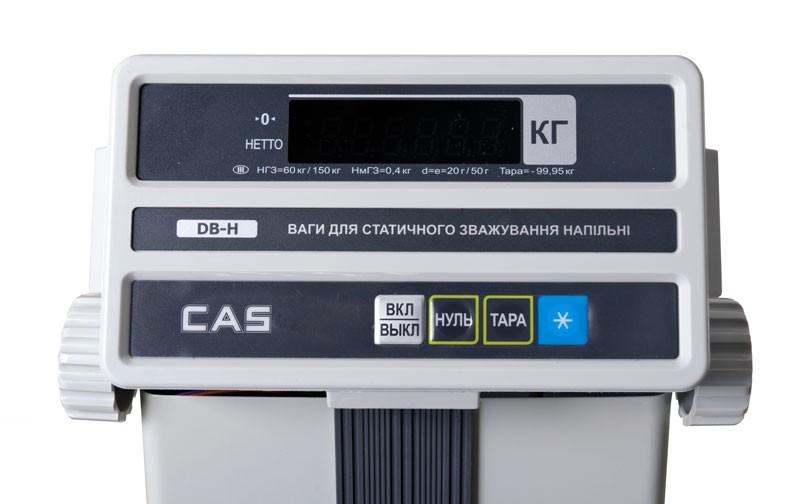Весы товарные CAS DB-60H