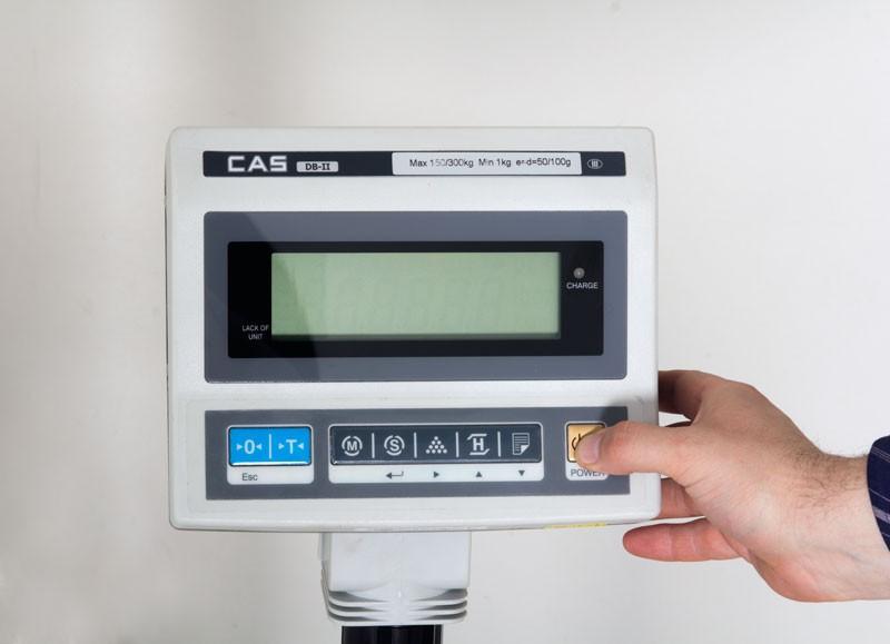 Весы товарные CAS DB-II-600