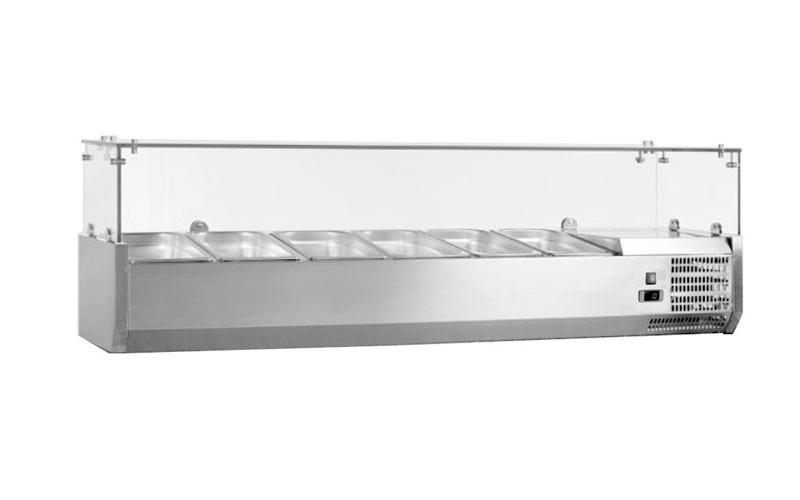Витрина холодильная Frosty VRX1400/380