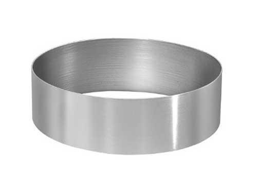 Форма для выпечки металлическая круглая 22х5 см.