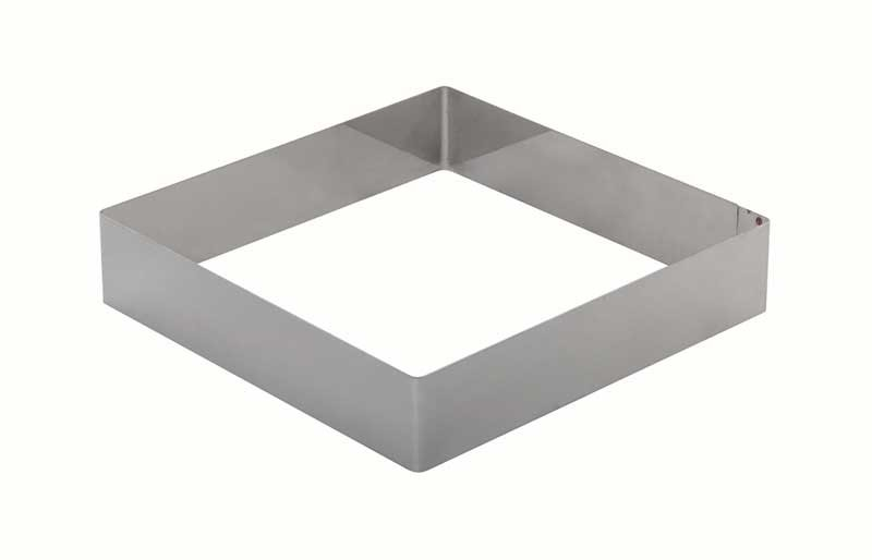 Форма для выпечки металлическая квадратная 17х17х7 см. KAPP 43031717