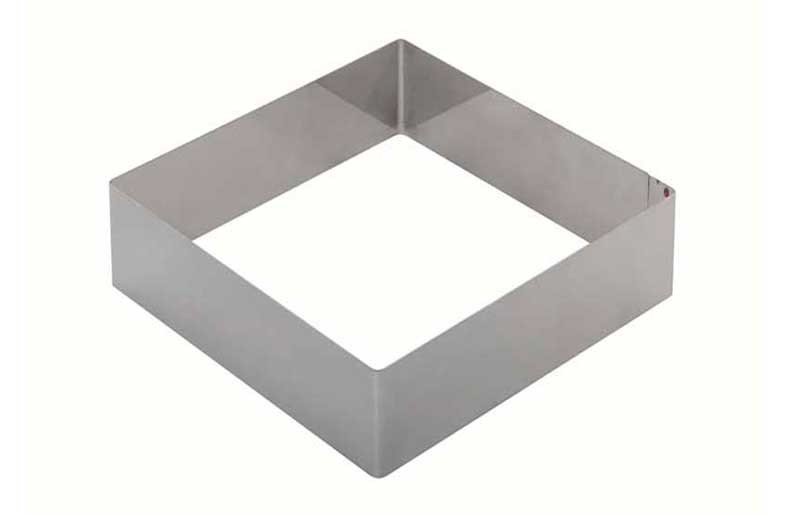 Форма для выпечки металлическая квадратная 28х28х10 см. KAPP 43031028