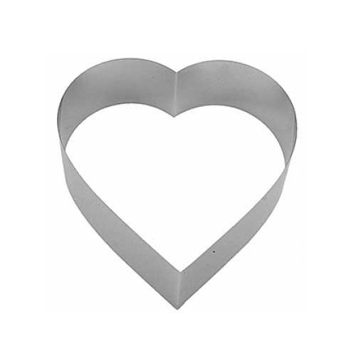 Форма для выпечки металлическая сердце KAPP 64018585