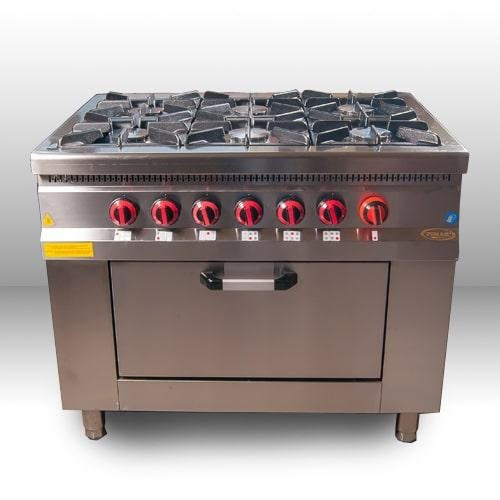 Плита газовая Pimak МО15-6/Газ-контр.
