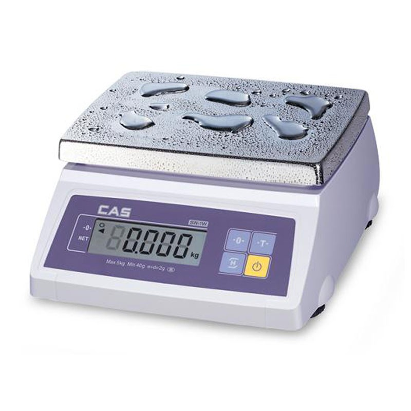 Весы фасовочные CAS SW-5W влагозащищенные