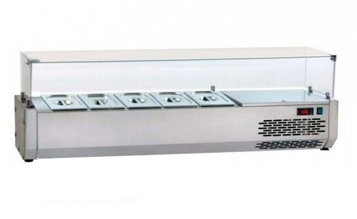 Витрина холодильная (суши кейс) DGD VR4140VD