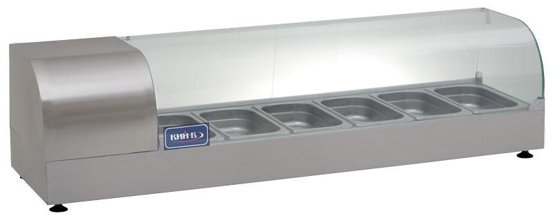 Холодильные витрины настольные ВХН -6-1400Р